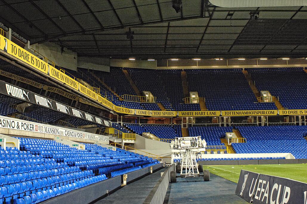 Tribüne White Hart Lane, Stadion Tottenham Hotspur