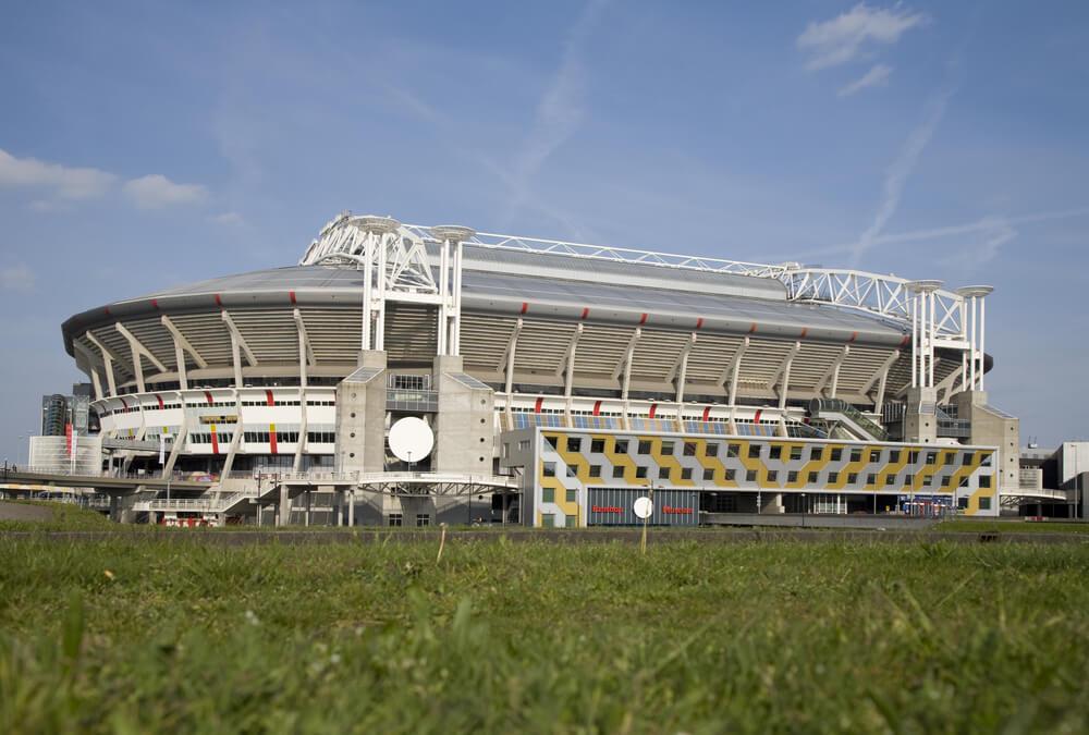 Amsterdam Arena Aussenansicht, Stadion Ajax Amsterdam