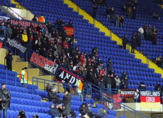 Bayer Leverkusen Fans in Charkiw