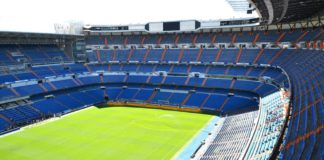 Estadio Santiago Bernabeu, Stadion von Real Madrid