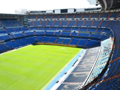 Estadio Santiago Bernabeu, Stadion von Real Madrid