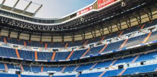 Real Madrid Stadion Santiago Bernabeu