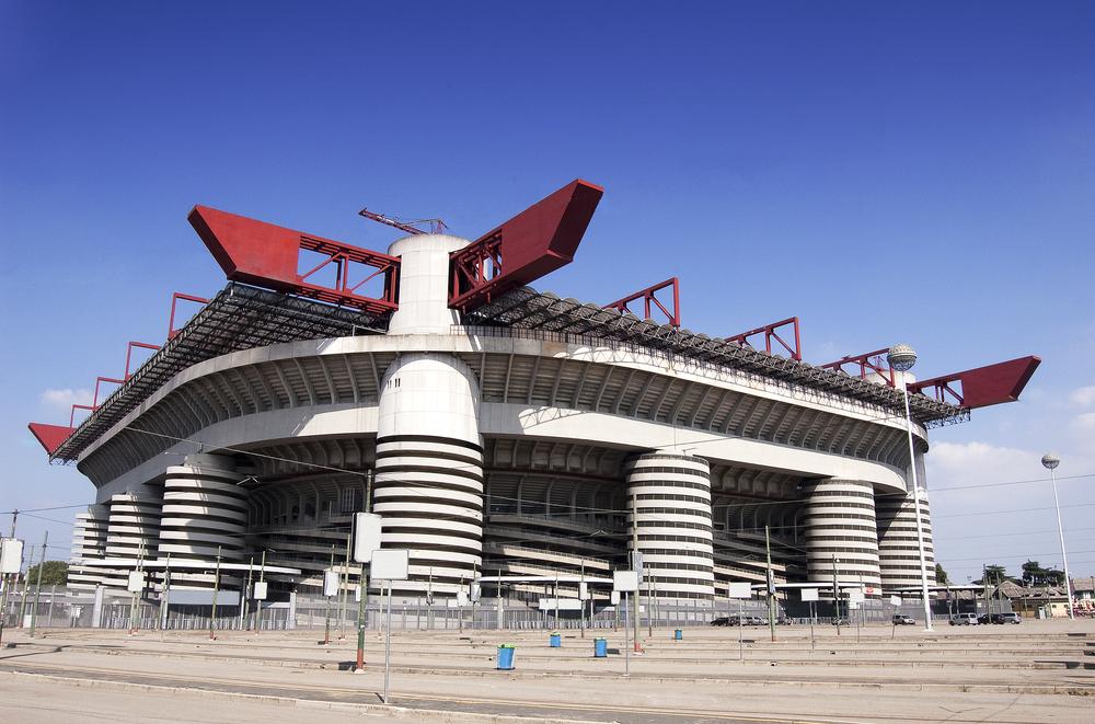san siro stadion aussenansicht AC Mailand