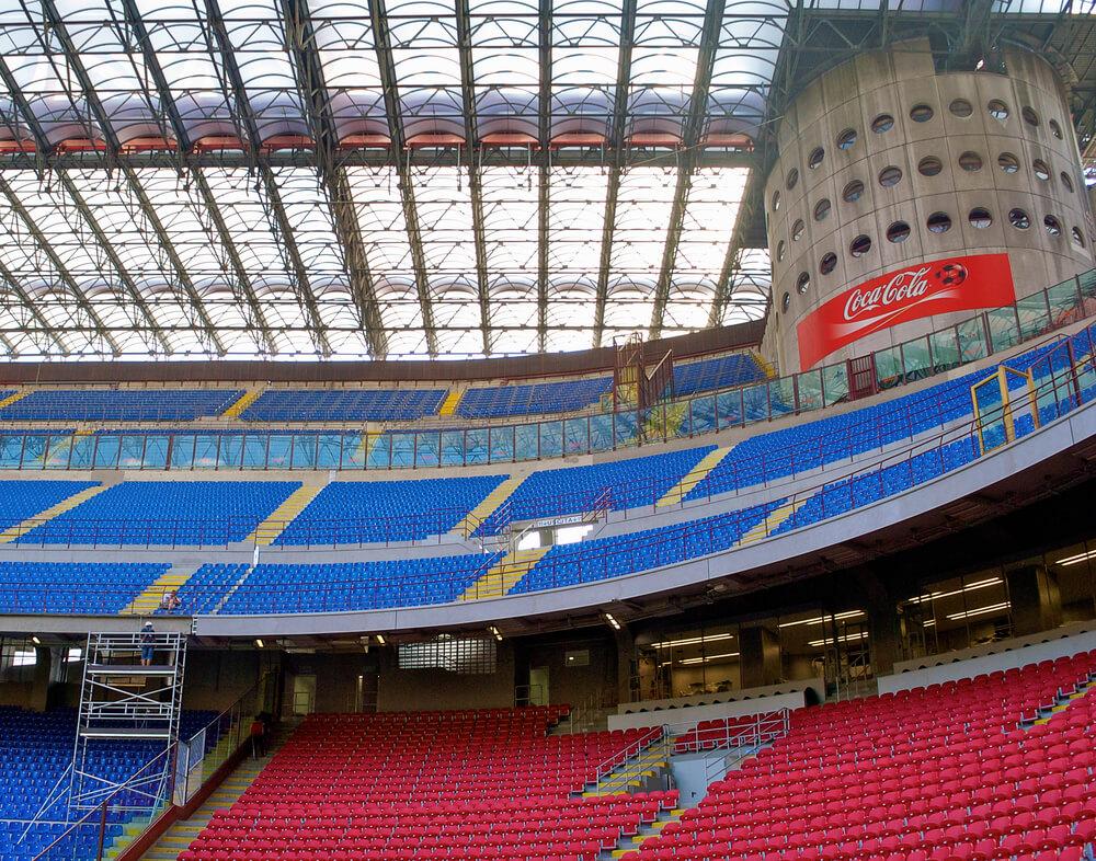san siro stadion kurve AC Mailand