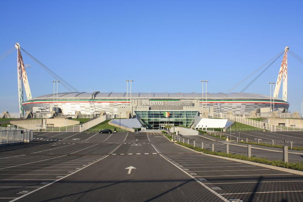juventus stadium Aussenansicht / Stadion von Juventus Turin