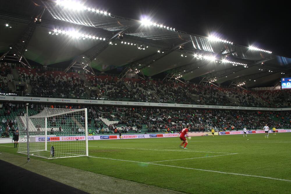 Stadion Wojska Polskiego, Stadion Legia Warschau