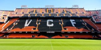Estadio Mestalla FC Valencia