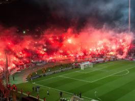 Pyro-Show Toumba Stadion