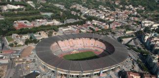 Stadio San Paolo, Stadion vom SSC Neapel, Luftbild
