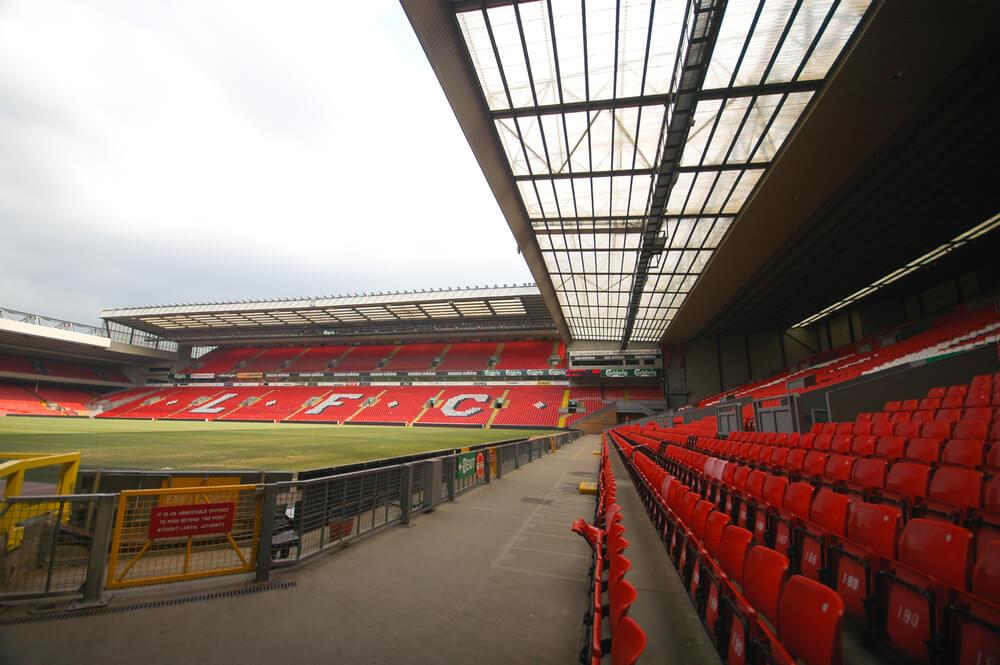 Stadion an der Anfield Road, Stadion vom FC Liverpool