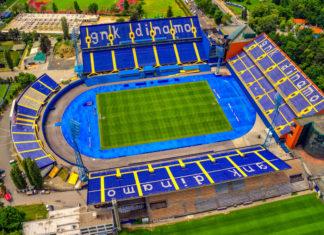 Stadion Maksimi Dinamo Zagreb Luftaufnahme