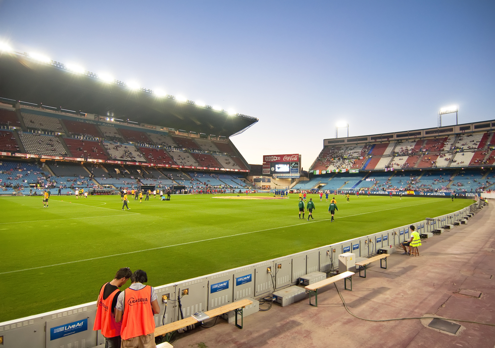 Estadio Vicente Caldero, Stadion von Atletico Madrid