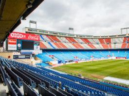 Stadion Vicente Calderon Atletico Madrid
