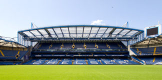 Stamford Bridge Tribüne, Stadion Chelsea London