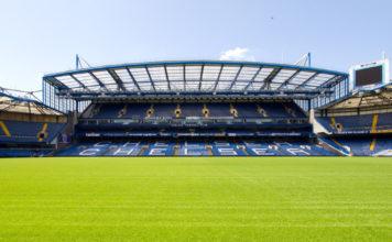 Stamford Bridge Tribüne, Stadion Chelsea London