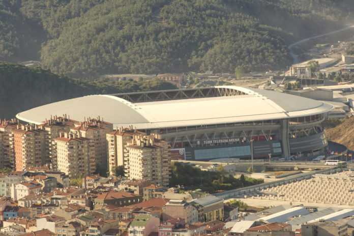 Stadion Galatasaray Istanbul, Türk Telekom Arena