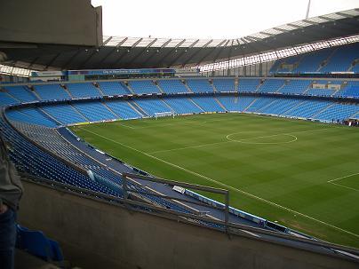 Ethihad Stadium Manchester City