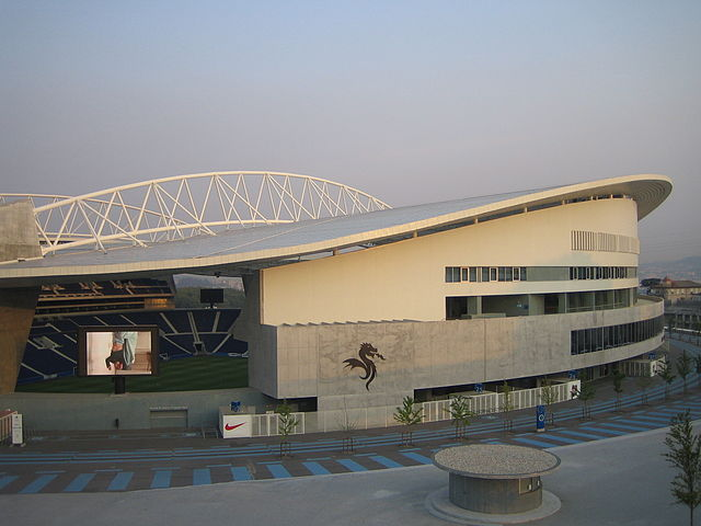 Estadio do Dragao Aussenansicht, Stadion FC Porto