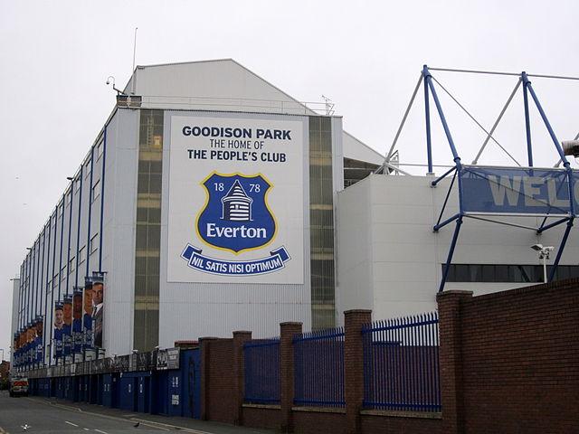 Goodison Park, Stadion FC Everton, Außenansicht