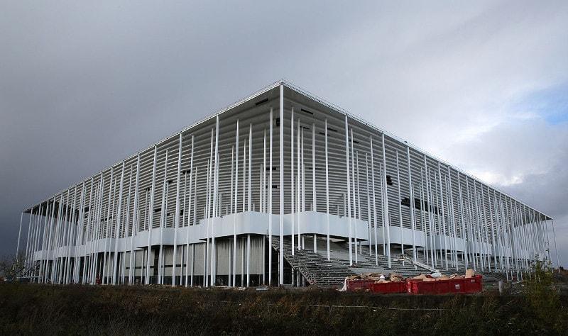 Stade Matmut-Atlantique, Girondins Bordeaux, Aussenansicht