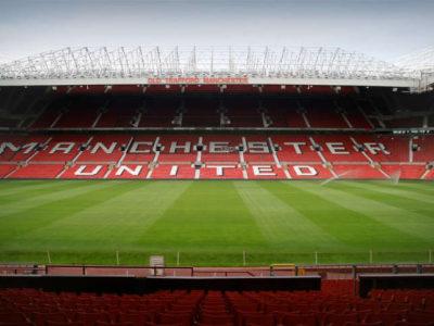 Old Trafford Innenansicht, Manchester United