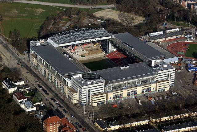 Telia-Parken FC Kopenhagen Luftbild