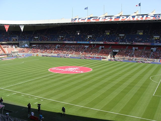 Parc des Princes, Stadion Paris Saint-Germain