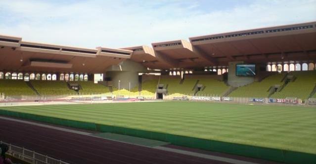 Stade Louis II Innenbereich, Stadion AS Monaco