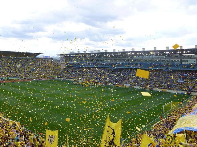 El Madrigal Choreographie FC Villarreal