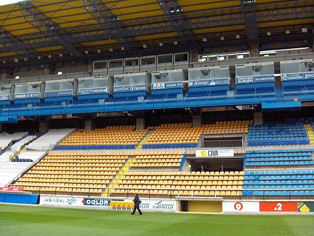 El Madriga FC Villarreal Haupttribüne
