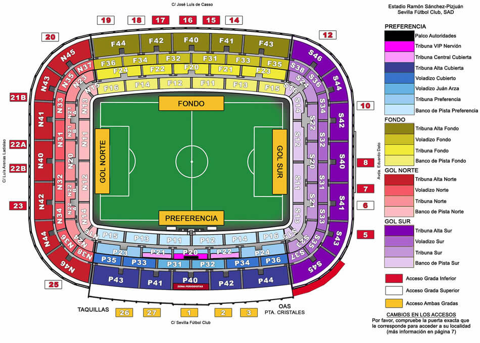 Stadionplan_FC_Sevilla_Ramon_Sanchez_Pizjuan