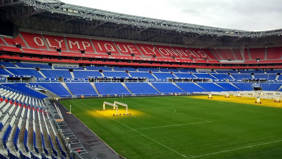 Europa League Finale 2018 Parc Olympique Lyonnaise Innenansicht