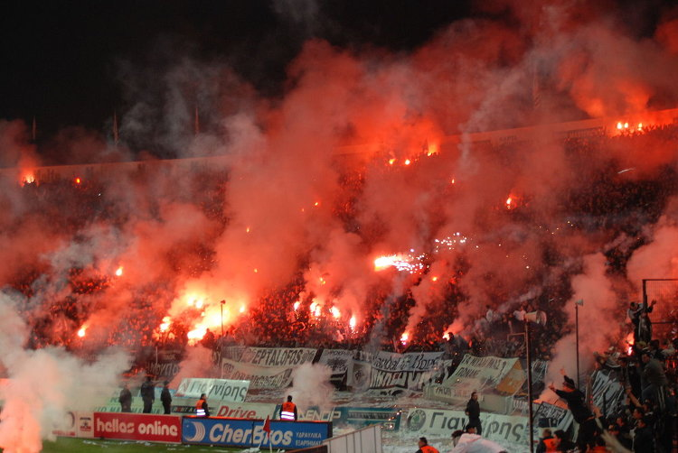 PAOK Saloniki Fans