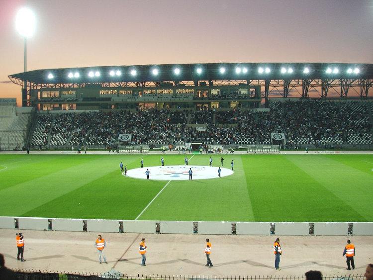 Toumba Stadion Abend PAOK Saloniki