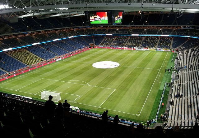 Europa League Finale 2017 Friends Arena Innenbereich