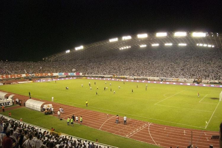 Poljud Stadion innen
