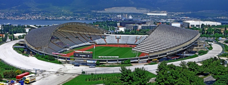 Poljud Stadion außen panorama