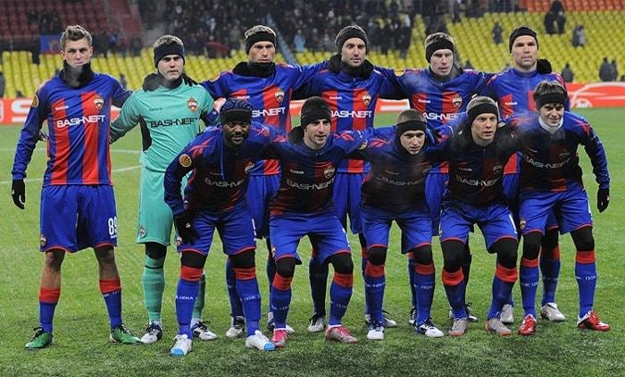 ZSKA Moskau Mannschaft