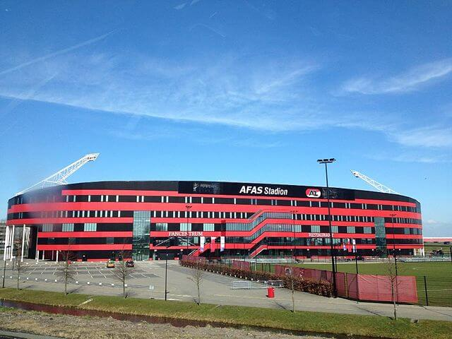 AFAS-Stadion AZ Alkmaar Außenansicht