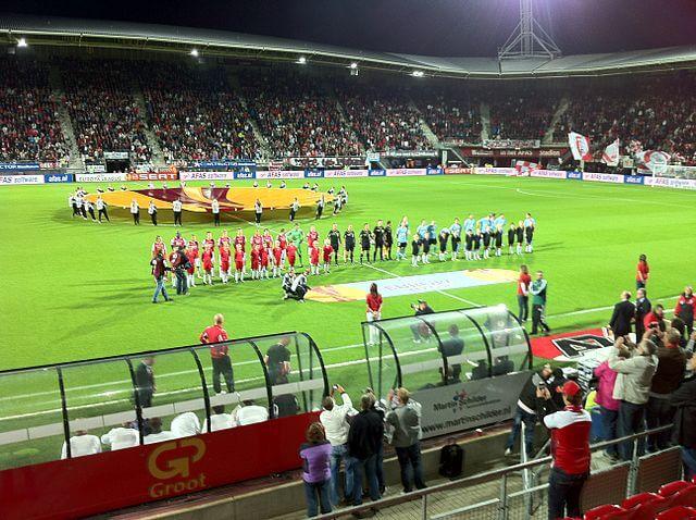 AZ Alkmaar Stadion AFAS Stadion Innenbereich