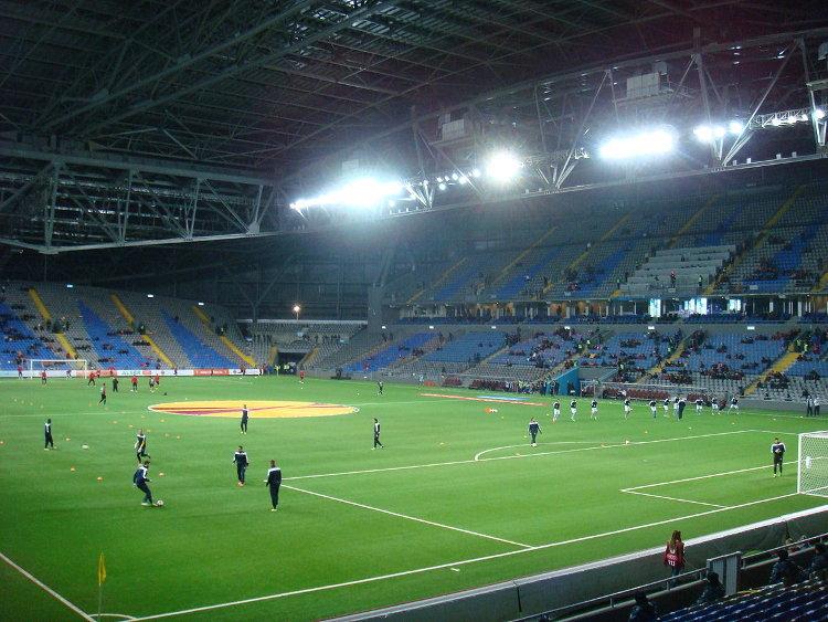 Astana Arena innen FK Astana