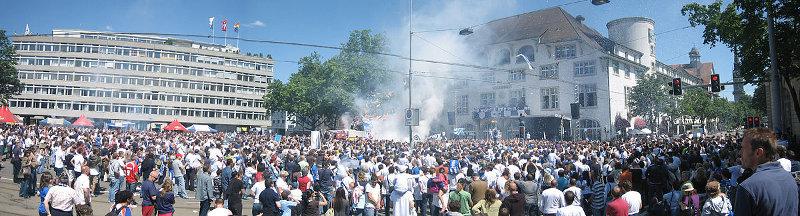 FC Zürich Meisterfeier2009