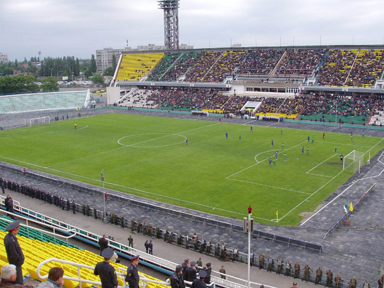 FK Krasnodar Kuban Stadion innen