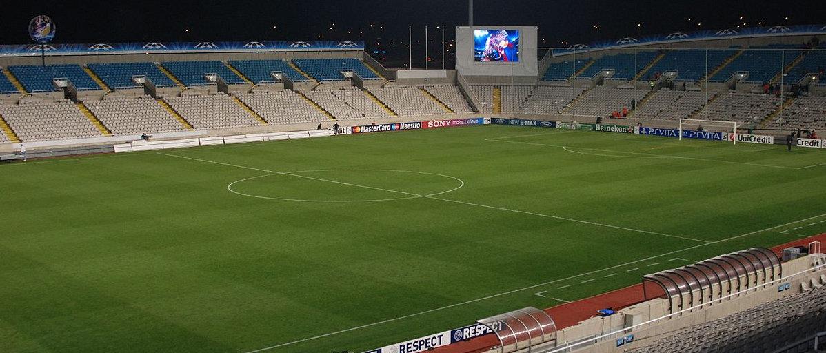 GSP Arena APOEL Nikosia Panorama
