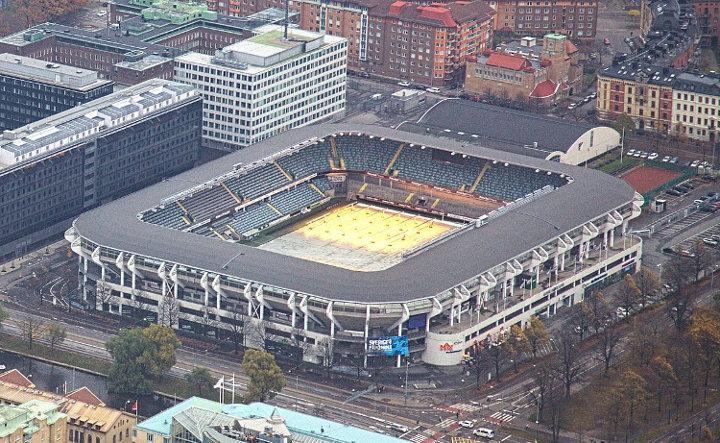 Gamla Ullevi oben, Stadion IFK Göteborg
