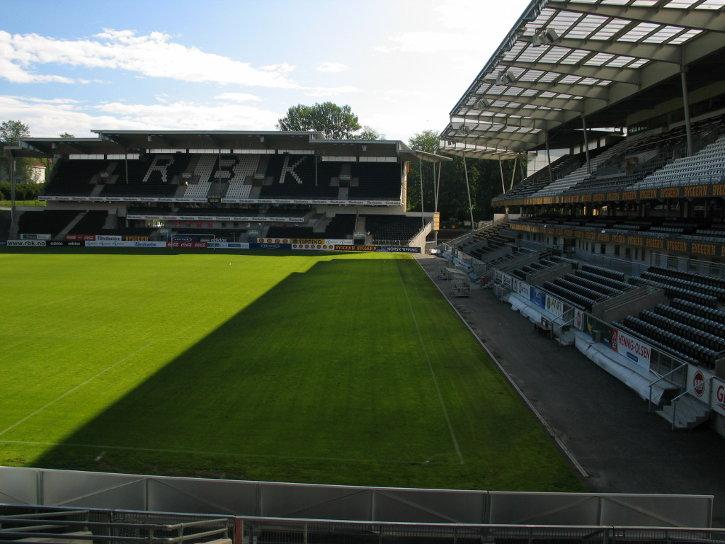Lerkendal Stadion von Rosenborg Trondheim