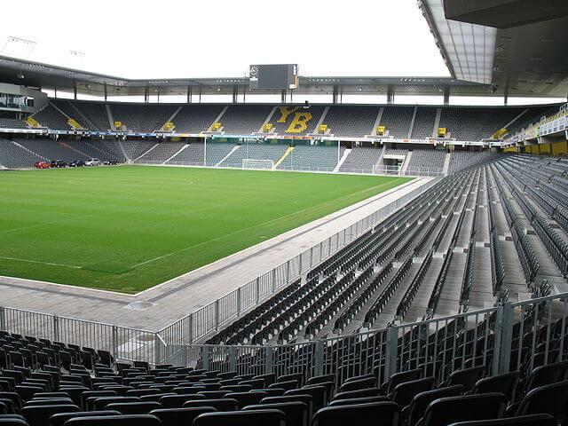 Young Boys Bern Stadion, Stade de Suisse Wankdorf, Innenbereich
