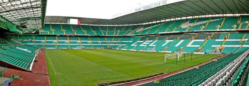 Celtic park Celtic Glasgow Pano