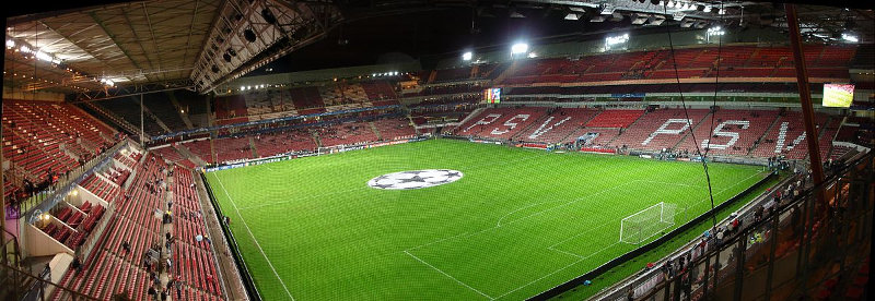 Philips Stadion Pano PSV Eindhoven