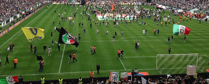 Juventus Stadion Juventus Turin Meisterschaft 2013